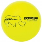 "6"" Rhino Skin® Neon Yellow Dodge Balls - Set of 6"