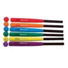 "Rhino® Ultra Foam 29"" Bat and Ball Set - Set of 9"