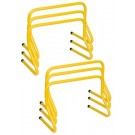 """12"""" High Weighted Hurdles - Set of 6"""