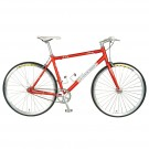 Tour De France Stage One Vintage Red 51cm Single Speed Track Bicycle (Red / White)