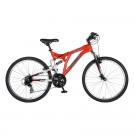 Polaris Ranger Men's 21 Speed Dual Suspension Mountain Bike by