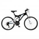 """Polaris Ranger Boys 24"""" Dual Suspension 21 Speed Mountain Bike by"""