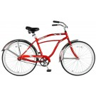 "Victory Men's 19"" Touring One Bicycle (Red / White)"