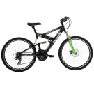 "Kawasaki® KDX226FS Men's 26"" Dual Suspension Mountain Bike"