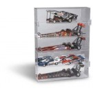 5 Top Fuel Dragsters 1/24 Scale Display Case from Clearwater Displays