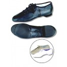 Danshuz Youth Black Leather Split Sole Jazz Shoes