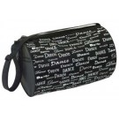 "Danshuz ""Dance Fonts"" Roll Duffel Bag"