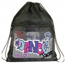 Graffiti Drawstring Backpack