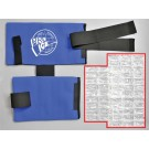 Pro Ice Ice Pack Insert (for use with the Adult Shoulder / Elbow Cold Therapy Wrap)