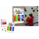 Choose Well Be Well Food Pyramid and Nutrition Activity for Climbing Wall from Everlast Climbing