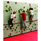 Groperz Easy Mount Number Holds for Climbing Wall - Set of 11 Red from Everlast Climbing