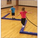 WeeKidz Balance Beam Shapes Beam from Everlast Climbing