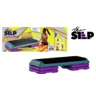 "The Step® ""Original Health Club"" Teal and Purple Aerobic Step System"
