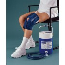 AirCast Medium Knee CryoCuff with Gravity Feed Cooler