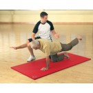 "40"" x 72"" x .6"" ArmaSport Elite-15 Exercise Mat (Red)"