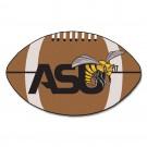 """22"""" x 35"""" Alabama State Hornets Football Mat"""