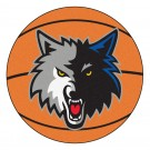 "Minnesota Timberwolves 27"" Basketball Mat"