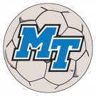 "Middle Tennessee State Blue Raiders 27"" Round Soccer Mat"