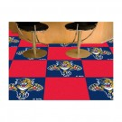 """Florida Panthers 18"""" x 18"""" Carpet Tiles (Box of 20)"""