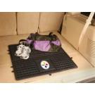 "Pittsburgh Steelers 31"" x 31"" Heavy Duty Vinyl Cargo Mat"