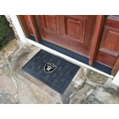 "Oakland Raiders 19"" x 30"" Medallion Door Mat"