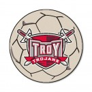 "27"" Round Troy State Trojans Soccer Mat"