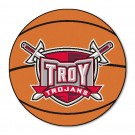 "27"" Round Troy State Trojans Basketball Mat"