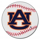 "27"" Round Auburn Tigers Baseball Mat (with ""AU"")"