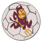 "27"" Round Arizona State Sun Devils Soccer Mat"