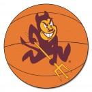 "27"" Round Arizona State Sun Devils Basketball Mat"