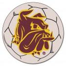 """Minnesota (Duluth) Bulldogs 27"""" Round Soccer Ball Mat"""