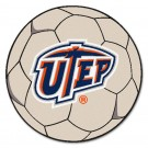 "Texas (El Paso) Miners ""UTEP"" 27"" Round Soccer Ball Mat"