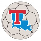 "Louisiana Tech Bulldogs 27"" Round Soccer Mat"