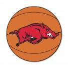"27"" Round Arkansas Razorbacks Basketball Mat"