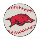 "27"" Round Arkansas Razorbacks Baseball Mat"