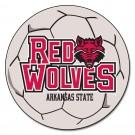 "27"" Round Arkansas State Red Wolves Soccer Mat"