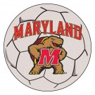 "27"" Round Maryland Terrapins Soccer Mat"