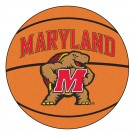 "27"" Round Maryland Terrapins Basketball Mat"