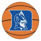 "27"" Round Duke Blue Devils Basketball Mat"