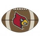 """22"""" x 35"""" Louisville Cardinals Football Mat"""