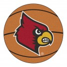 "27"" Round Louisville Cardinals Basketball Mat"