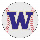 "27"" Round Washington Huskies Baseball Mat"