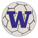 "27"" Round Washington Huskies Soccer Mat"