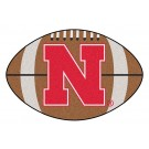 "22"" x 35"" Nebraska Cornhuskers Football Mat"