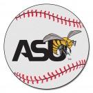 "27"" Round Alabama State Hornets Baseball Mat"