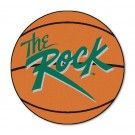 "Slippery Rock University 27"" Round Basketball Mat"