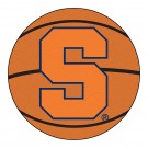 "27"" Round Syracuse Orange (Orangemen) Basketball Mat"
