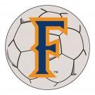 "27"" Round California State (Fullerton) Titans Soccer Mat"