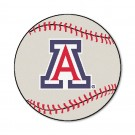 "27"" Round Arizona Wildcats Baseball Mat"