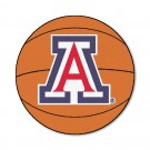 "27"" Round Arizona Wildcats Basketball Mat"